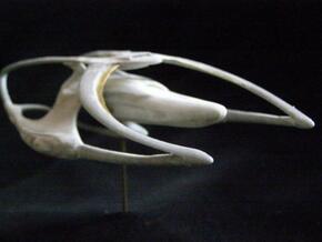 13 cm Heritage class warship in White Natural Versatile Plastic
