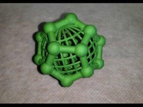 Dodecaspheres in Green Processed Versatile Plastic