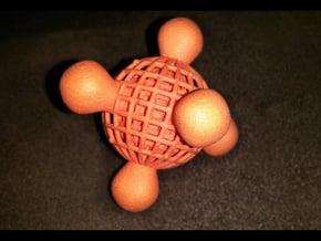 Bonecage in Orange Processed Versatile Plastic