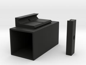 Meancharles Mini Tracer Airsoft Rail in Black Natural Versatile Plastic