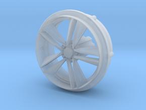 '15-'17 Mustang Ecoboost wheel for 1/25 Revell kit in Smoothest Fine Detail Plastic