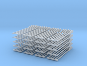 Paddles 100ea in Smooth Fine Detail Plastic