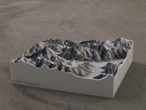 K2/Gasherbrum, Pakistan/China, 1:250000 Explorer in Full Color Sandstone