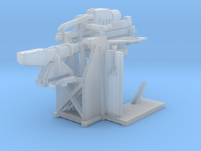 1/150 USN 5 inch Loading Machine Starboard in Smooth Fine Detail Plastic