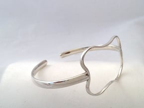 S&B BRACELET in Fine Detail Polished Silver