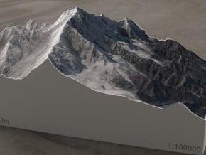 Rakaposhi, Pakistan, 1:100000 Explorer in Full Color Sandstone