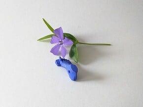 Symbol of Pain Prevention in Blue Processed Versatile Plastic: Small