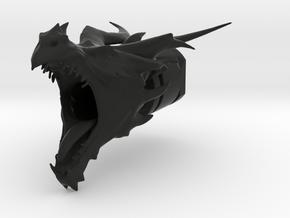 DragonHider Airsoft BarrelEnd CCW 14mm in Black Natural Versatile Plastic