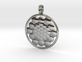 SPHERES OF LIFE in Fine Detail Polished Silver