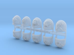10x Deathwatch - Chapter Origin Set:44 in Smooth Fine Detail Plastic