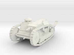 PV16E M1918 Ford 3 Ton Tank (1/35) in White Natural Versatile Plastic