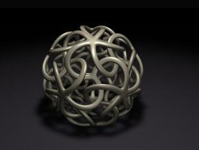 Starfish's Ball in White Natural Versatile Plastic