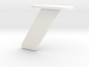 1.5 ANTENNE SOUS CABINE MIRAGE 2000 in White Processed Versatile Plastic