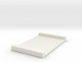 Pico Crumble to Nano Biscotte Adaptor in White Natural Versatile Plastic