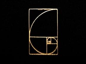 Aureo Linea / AL01 in Polished Gold Steel