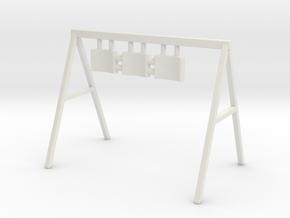Swing 01. O Scale (1:48) in White Natural Versatile Plastic