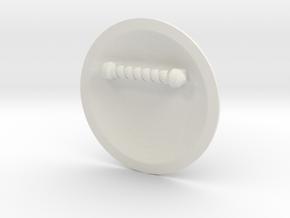 Goblin Slayer Shield in White Natural Versatile Plastic