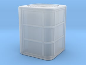 HO Scale Air Conditioner in Smooth Fine Detail Plastic