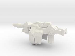 Cricket Bugman Gun in White Natural Versatile Plastic