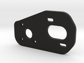 V2 BPERC 4-Gear Laydown Motor Plate in Black Natural Versatile Plastic