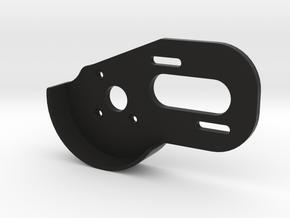V1 BPERC 4-Gear Laydown Motor Plate (With Guard) in Black Natural Versatile Plastic