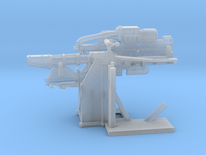 1/96 USN 5 inch Loading Machine Starboard in Smooth Fine Detail Plastic