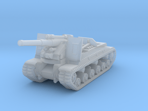 1/285 S-51 Self-Propelled Howitzer in Smooth Fine Detail Plastic