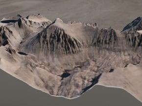 Mt. Whitney, California, 1:25000 in Full Color Sandstone