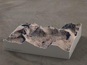 Mt. Whitney, California, 1:50000 in Full Color Sandstone
