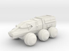 Explorer Buggy in White Natural Versatile Plastic