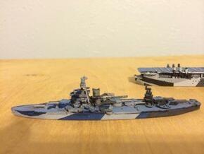 USS Arkansas 1/1800 in White Natural Versatile Plastic