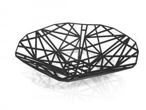 Marrakech Plate in White Natural Versatile Plastic