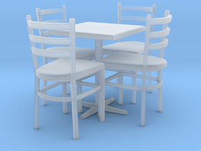 Table 01. 1:24 scale in Smooth Fine Detail Plastic