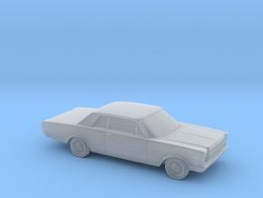 1/160 1966 Ford Galaxie 500  Custom 2 Door in Smooth Fine Detail Plastic