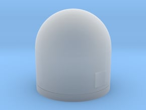 1:200 Scale WSC-6 SatCom Dome in Smooth Fine Detail Plastic