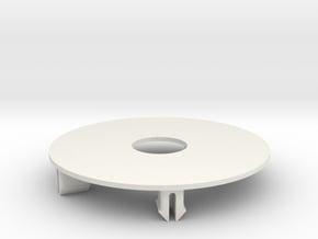 Salvas Mudboss RC Oval Wheel Dots Traxxas Raptor in White Natural Versatile Plastic