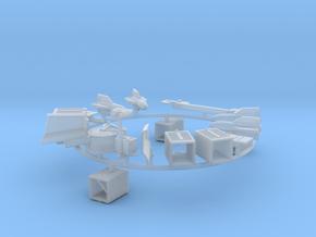 ENTAC Missile System: Jeep Mount - Sprue in Smooth Fine Detail Plastic: 1:72
