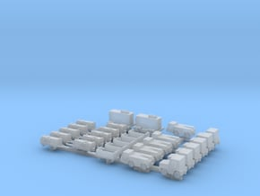 1:400 Airport Special (28pc) in Smooth Fine Detail Plastic