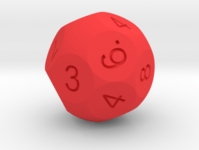 D16 numbered as 2D4 in Red Processed Versatile Plastic