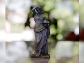 Woman Statue in Full Color Sandstone