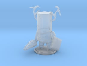 Troll Knight in Smooth Fine Detail Plastic
