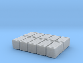 Boxes  10x in Smooth Fine Detail Plastic: 1:45