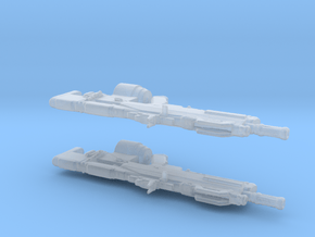 Hakke Test-A (1:24 Scale) - 2 Pack in Smooth Fine Detail Plastic
