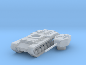 1/285 KV-220 in Smooth Fine Detail Plastic: Small