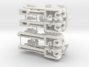 Quarter Mile GUN Kit--rev5a in White Natural Versatile Plastic
