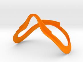 Oculus Rift CV1 Facial Interface Replacement VR in Orange Processed Versatile Plastic