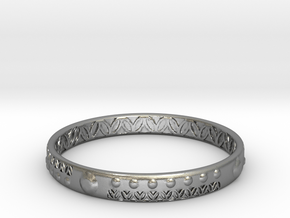 View in a Strandgade Study - SMK in Natural Silver: Small