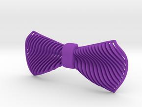 Stripes in Purple Processed Versatile Plastic