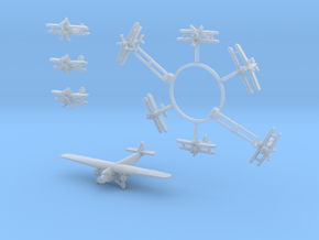 HTA Unit 1/520th to match the AMT kit (10 planes) in Smooth Fine Detail Plastic