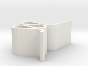 Wiggle Chair 1to24 in White Natural Versatile Plastic: 1:24